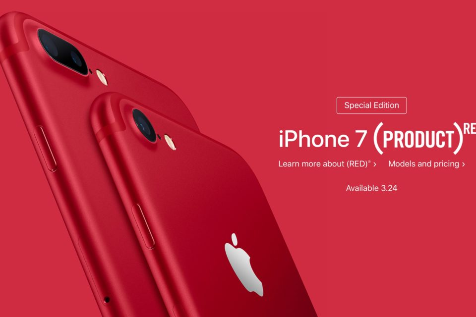 Special Edition (PRODUCT) Red iPhone 7