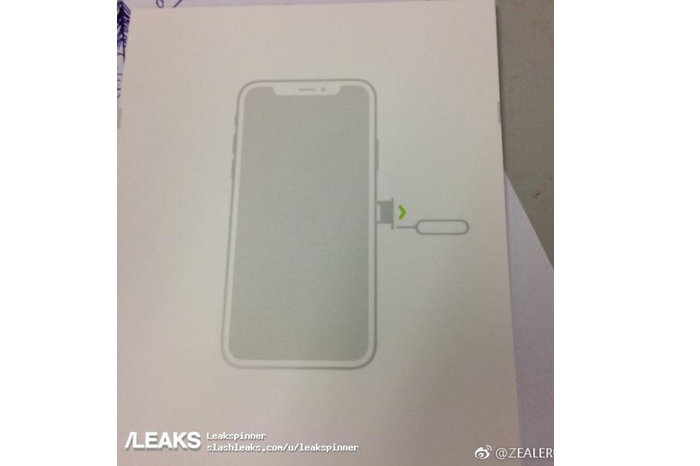 Alleged design of the new iPhone 8 leaked in a render