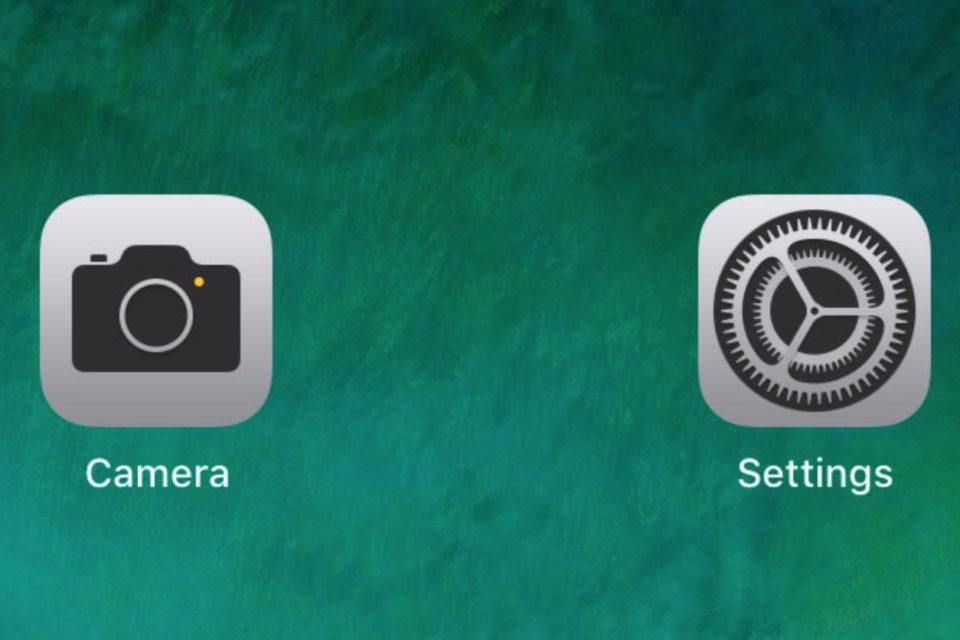Camera & Settings iOS 11 beta 5