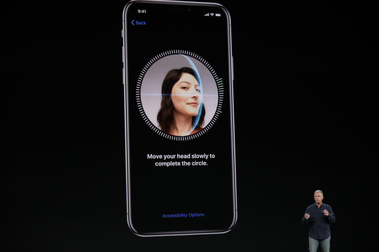 IPhone X has Face ID security in case of theft