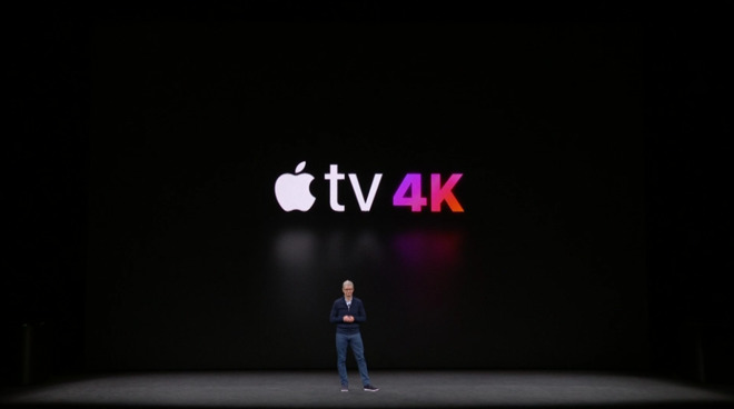 Apple releases new Apple TV 4K starting at $179, with free 4K upgrades to iTunes movie purchases