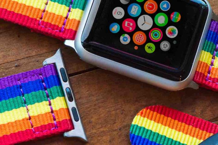 Apple discontinues special Pride Edition Apple Watch band