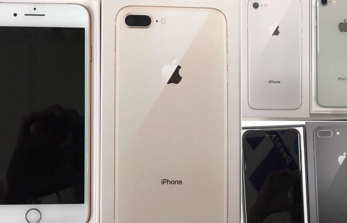 Images show early unboxing of iPhone 8