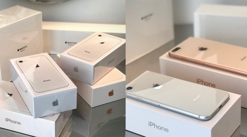 iPhone 8, Apple Watch Series 3 and Apple TV pre-orders begin to arrive to first wave of customers