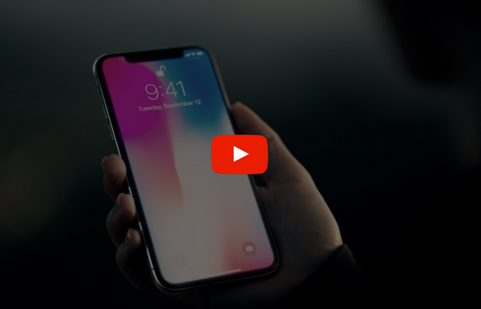 Apple release iPhone 8 and iPhone X videos to Youtube