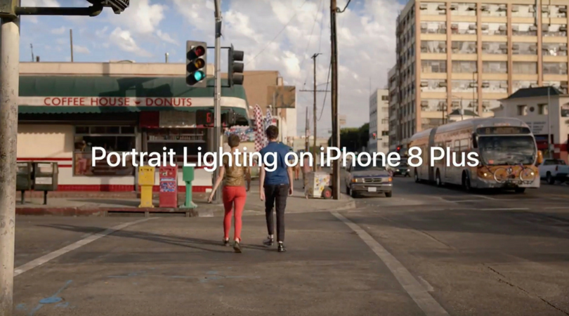 Apple releases new iPhone 8 Plus commercial focusing on Portrait Lighting feature