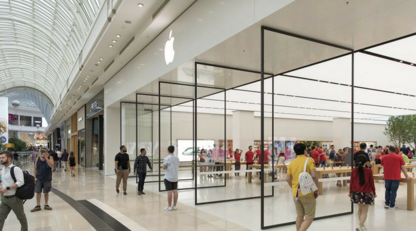 apple reveals first redesigned australian store in melbourne the apple post. Black Bedroom Furniture Sets. Home Design Ideas