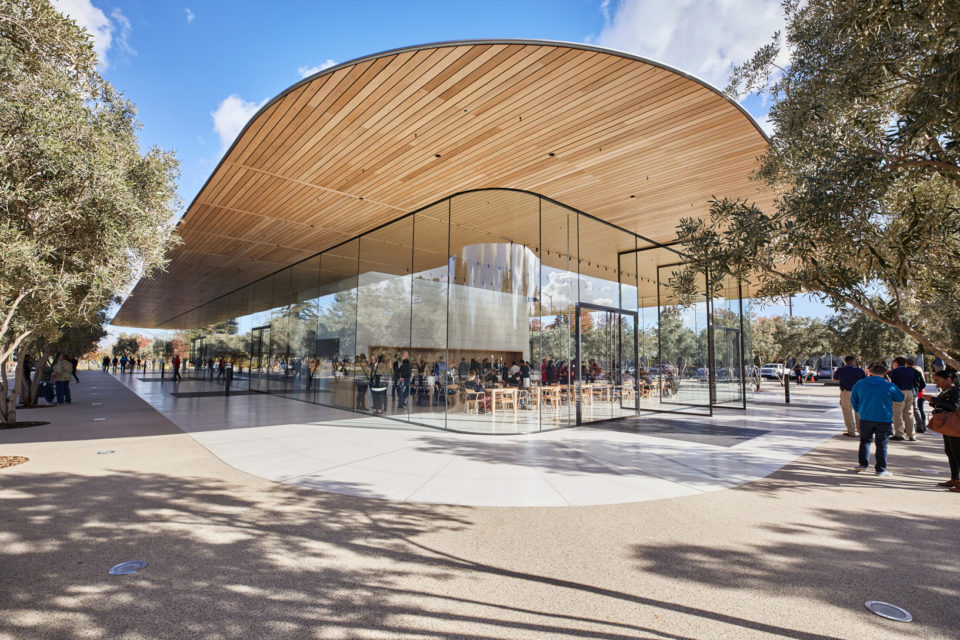 Apple opens Apple Park Visitor's Center to the public