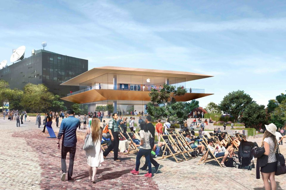 Federation Square's Getting An Apple Store