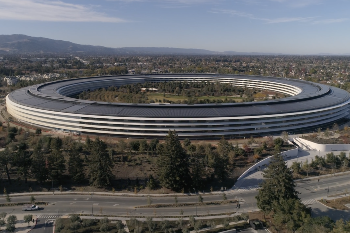 New 4K drone footage shows Apple Park construction nearing completion