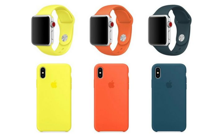 Apple releases Apple Watch Sport Bands and iPhone Cases in three new colours
