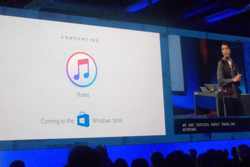 iTunes on Windows Store
