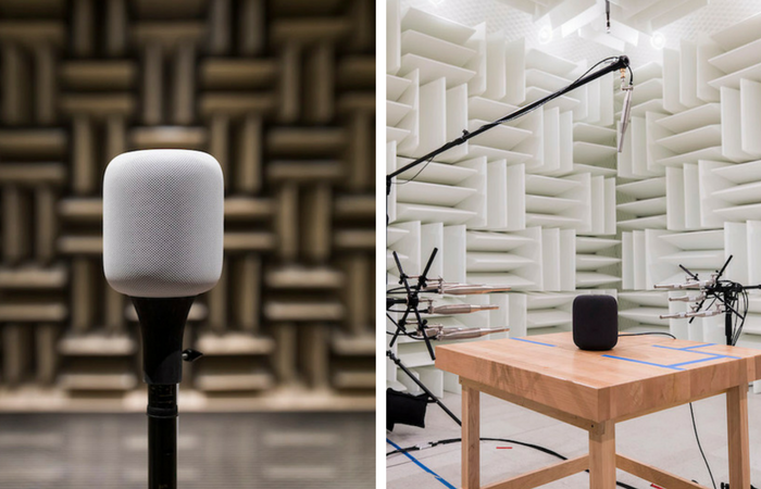 Apple shares behind the scenes images of HomePod audio lab