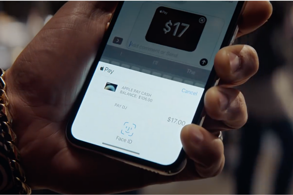 Apple Pay Cash - iPhone X Ad