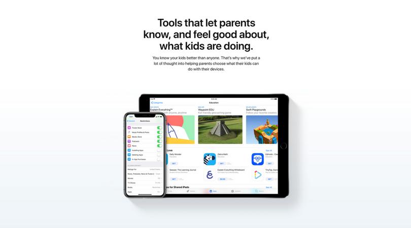 "Apple ""Families"""
