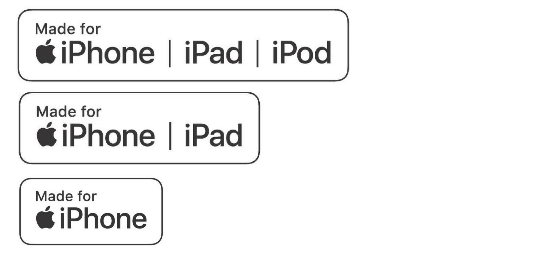 Made-for-iPhone (FMi) | Via Apple.