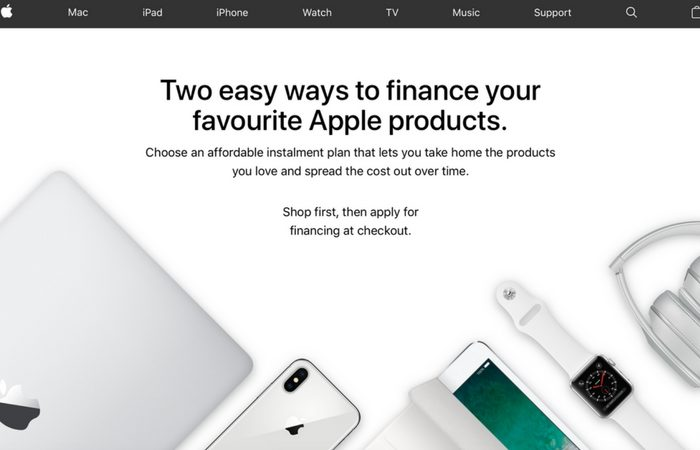 Apple no longer offering financing options in the United Kingdom