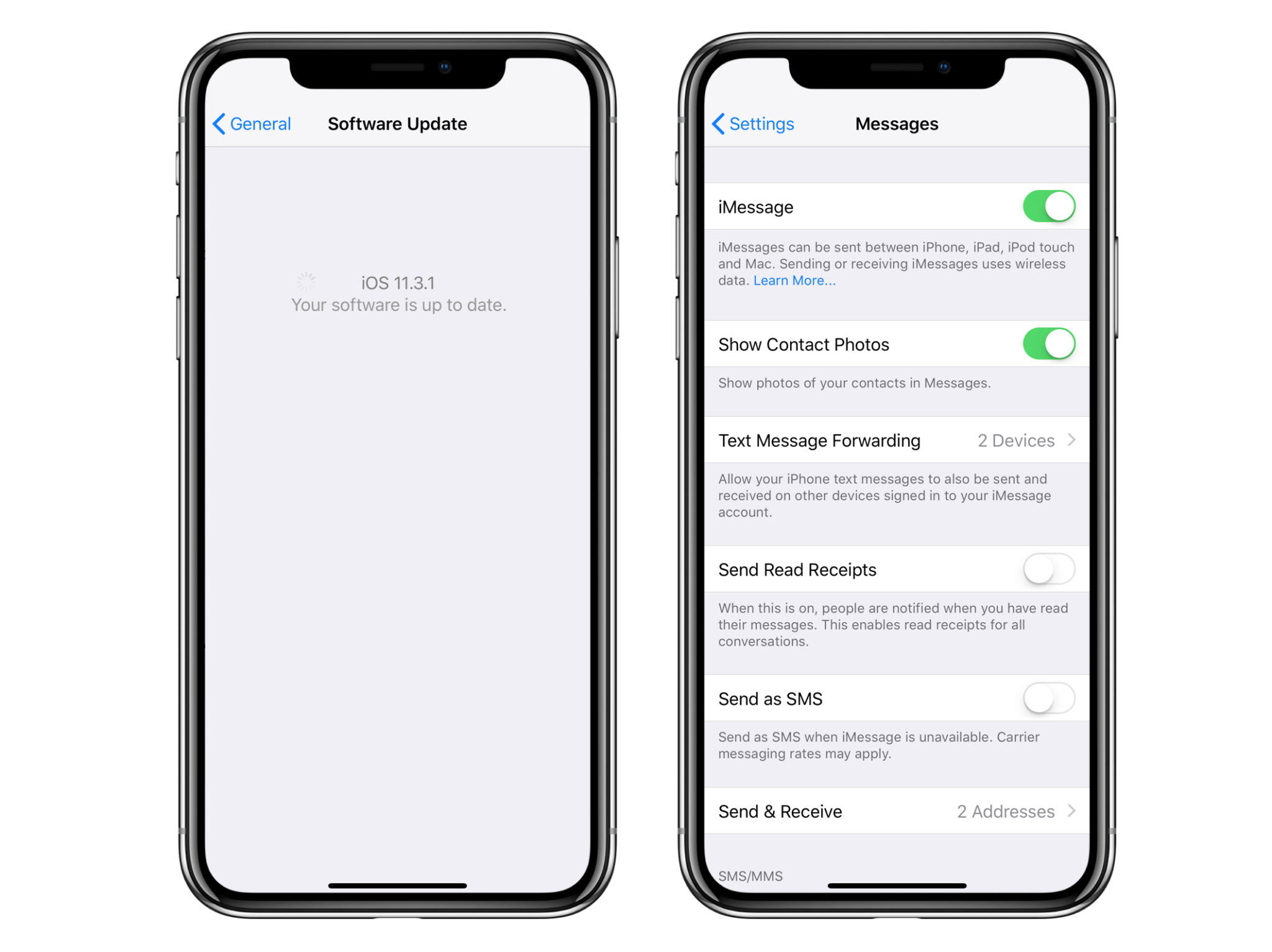 how to add messages to icloud