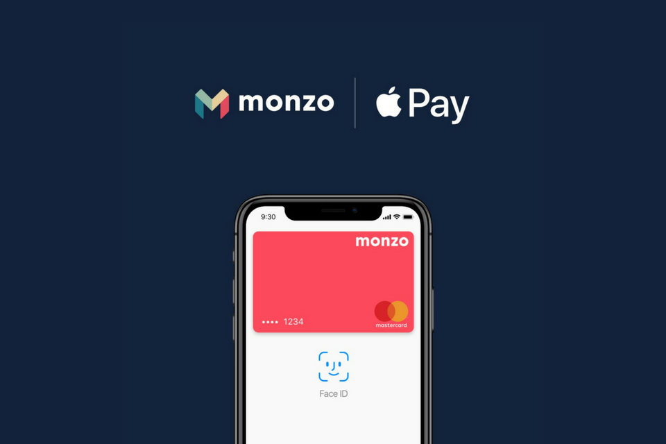 Monzo now supports Apple Pay in its banking services
