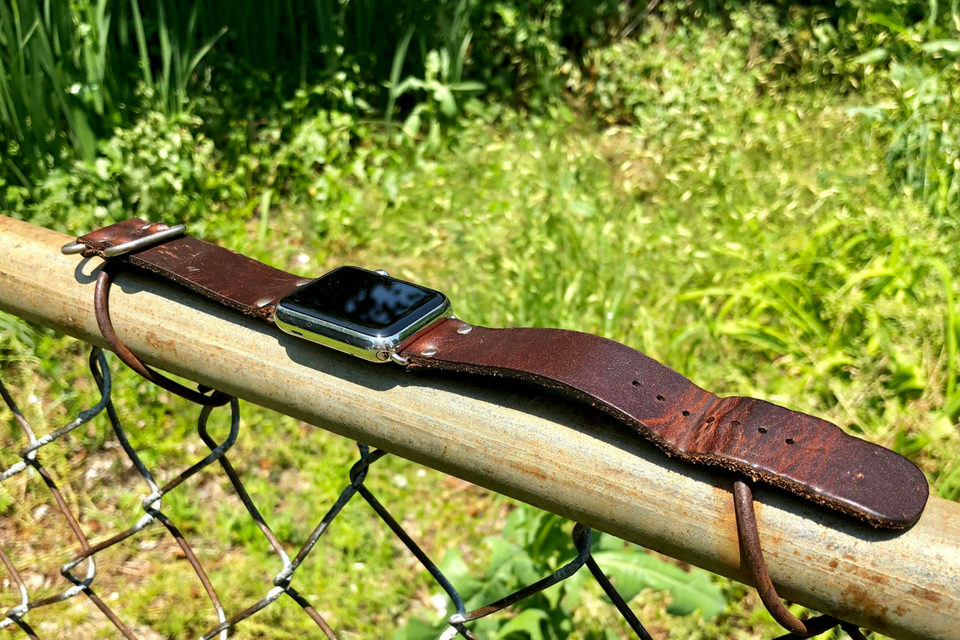 Range Leather Apple Watch Band