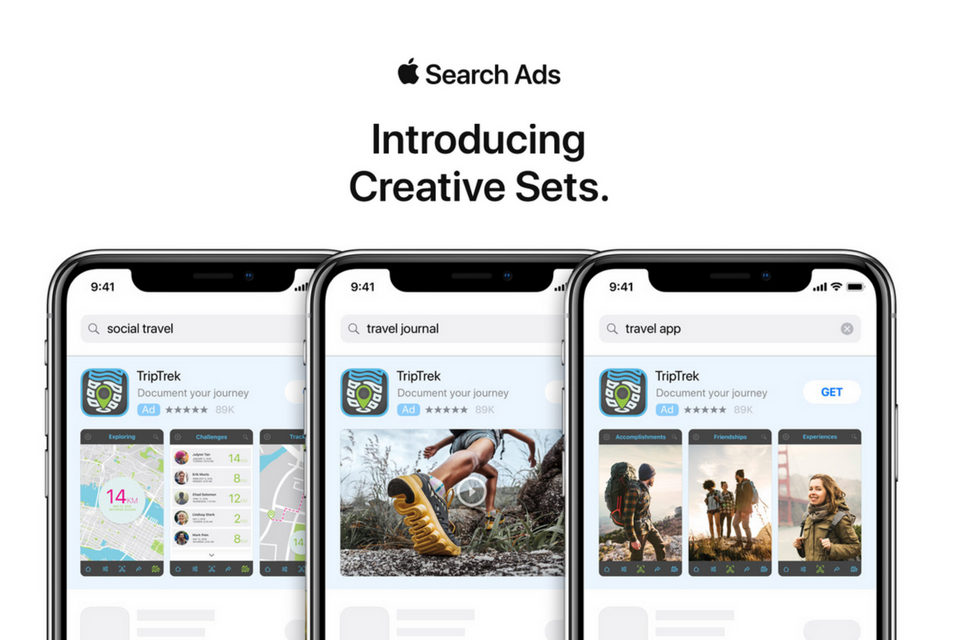 'Creative Sets' Search Ads