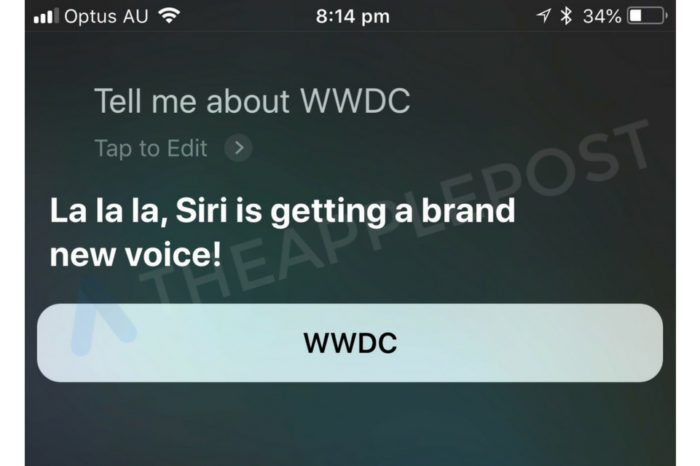 Apple to give Siri new voice at WWDC