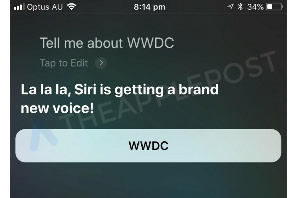 Siri - Voice - WWDC