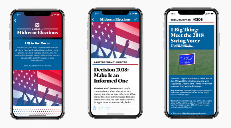 Apple News - 2018 US Midterm Elections