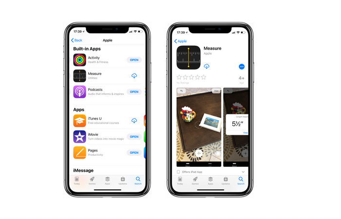 Apple's new iOS 12 Measure app now showing in the App Store