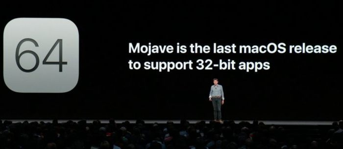 Apple confirms that macOS Mojave will be the last update to support 32-bit apps