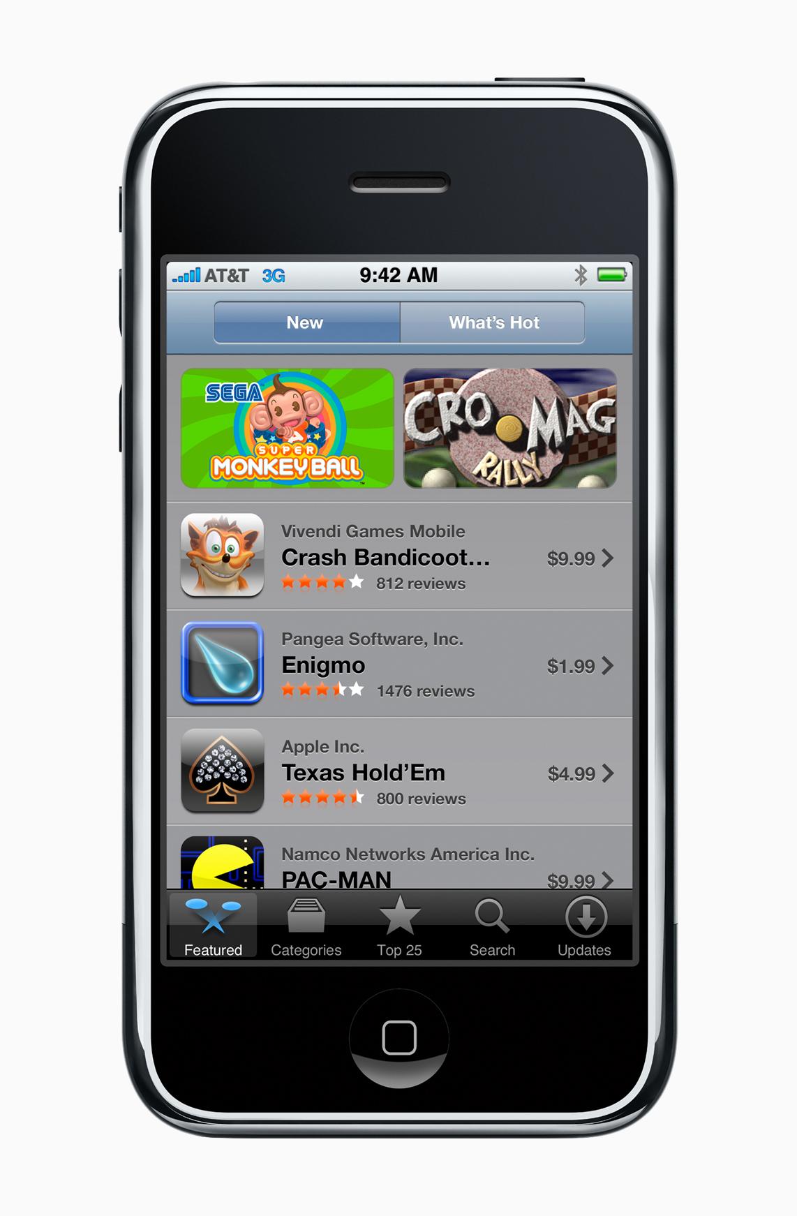App Store - 2008 | Via Apple