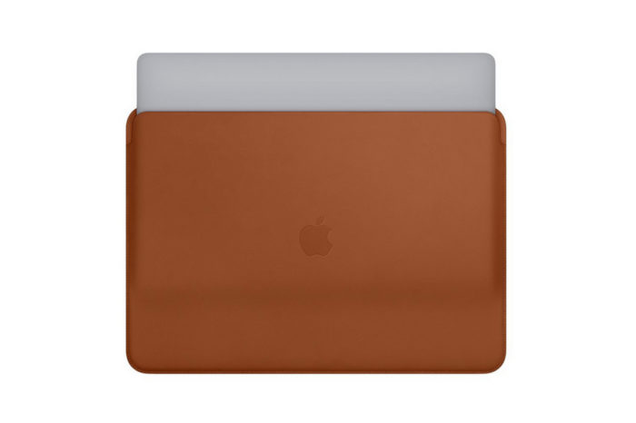 Apple introduces new leather sleeves for 13-inch and 15-inch MacBook Pro