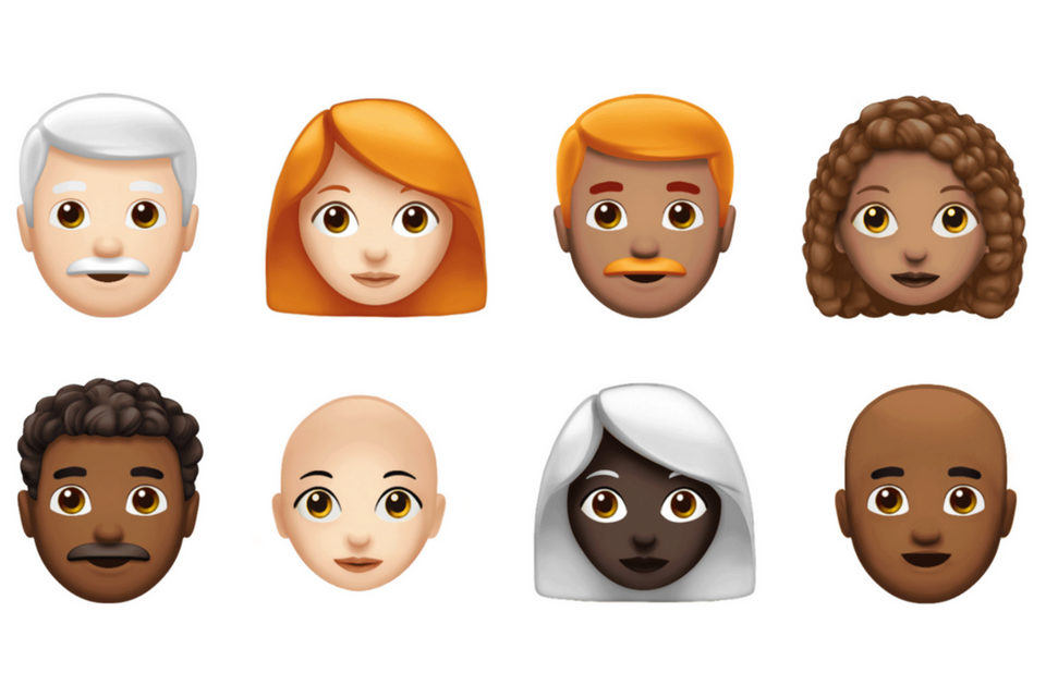 Red Hair Emoji - The Apple Post