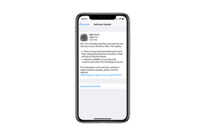 Apple releases iOS 11.4.1, tvOS 11.4.1 and watchOS 4.3.2 to the public