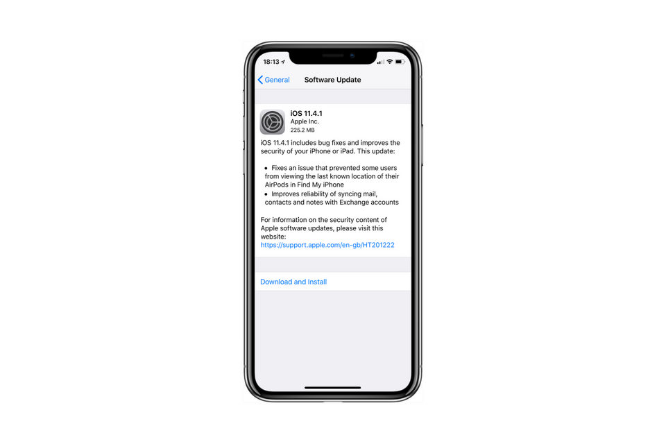 iOS 11.4.1 - Apple