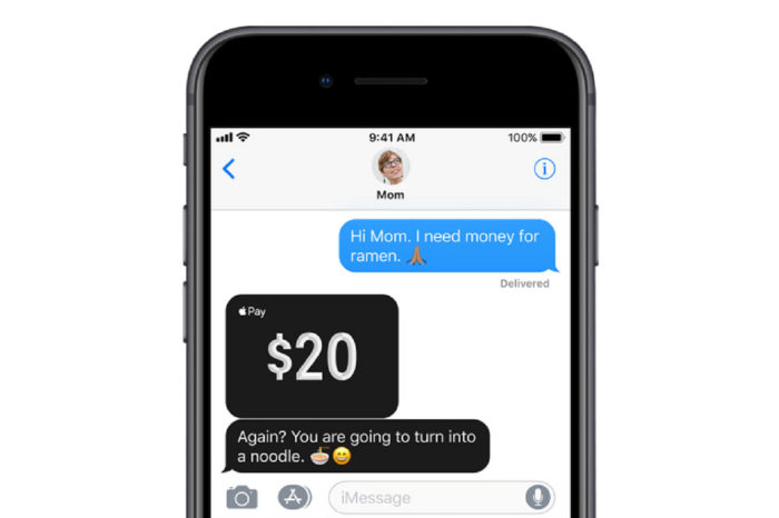 Apple Pay Cash voted best peer-to-peer payments service