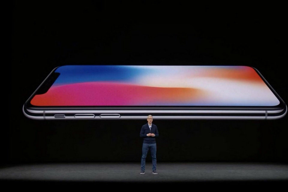 Tim Cook - iPhone X