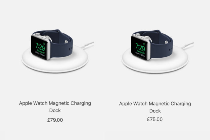 Apple Watch Magnetic Charging Dock gets small price reduction in the UK