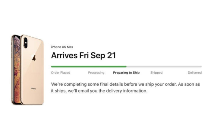 iPhone XS, iPhone XS Max and Apple Watch Series 4 pre-orders begin 'Preparing to Ship'