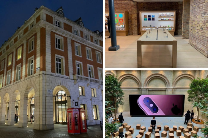 Images explore Apple's redesigned Covent Garden retail store