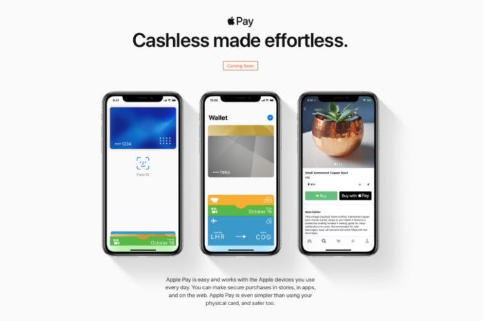 Apple Pay is 'Coming Soon' in Saudi Arabia according to Apple