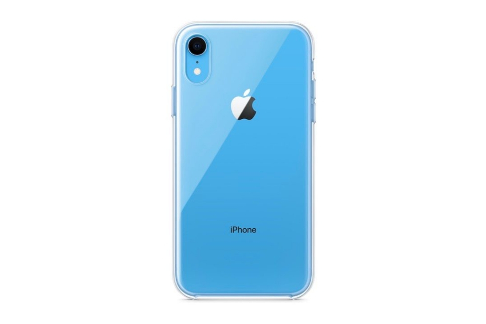 pretty nice a178c 39d01 iPhone XR launches without official Apple clear case despite ...