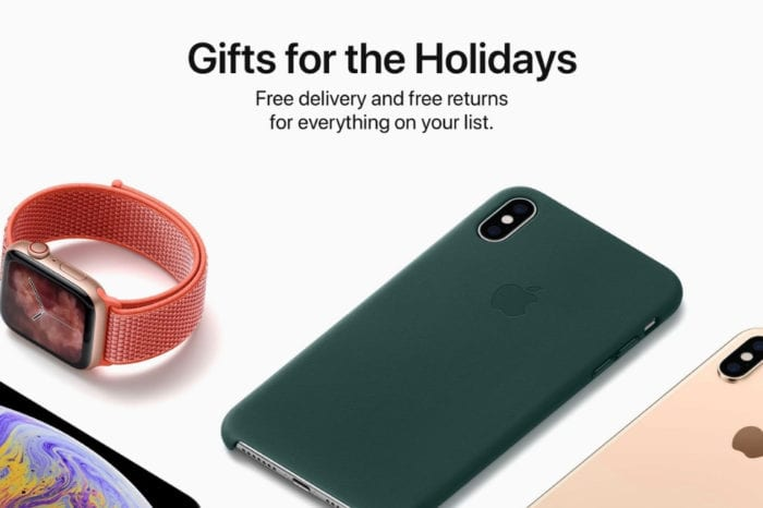 Apple shares official 2018 Holiday Gift Guide