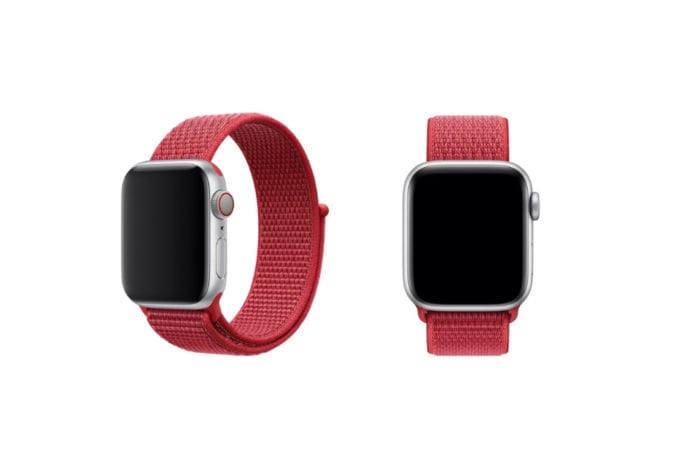Apple adds new (PRODUCT)RED Sport Loop band for Apple Watch