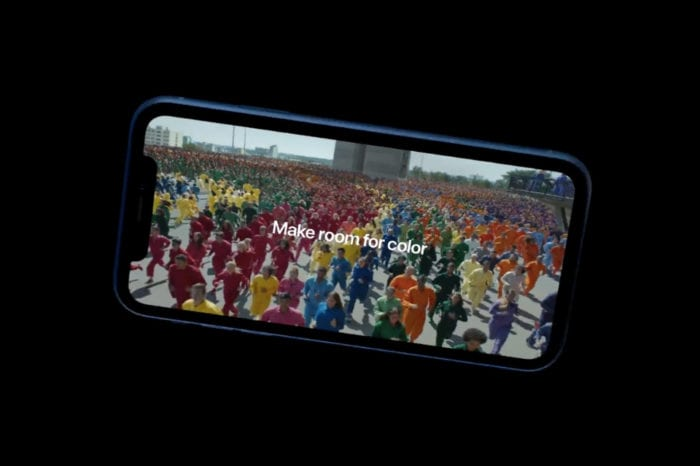 Apple releases new 'Color Flood' iPhone XR ad