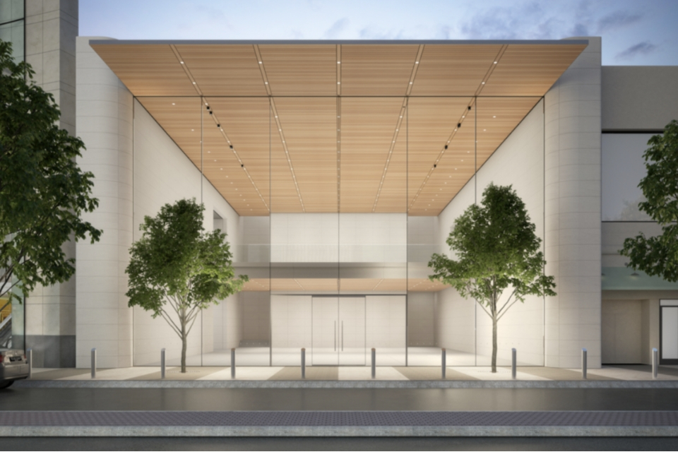 Apple Planning New Multi Storey Store At Atlanta S Lenox