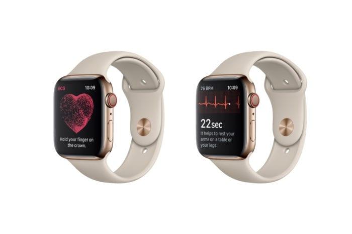 Apple releases watchOS 5.1.2 with ECG app for Apple Watch Series 4