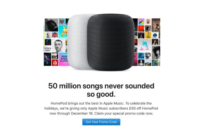 Apple offering limited time discount on HomePod exclusively to Apple Music subscribers