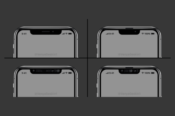 Concept shows how Apple could make the notch 33% smaller on the next iPhone
