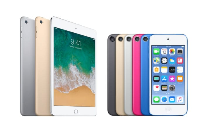 iOS 12.2 beta includes references to new iPod touch, and four new iPad models